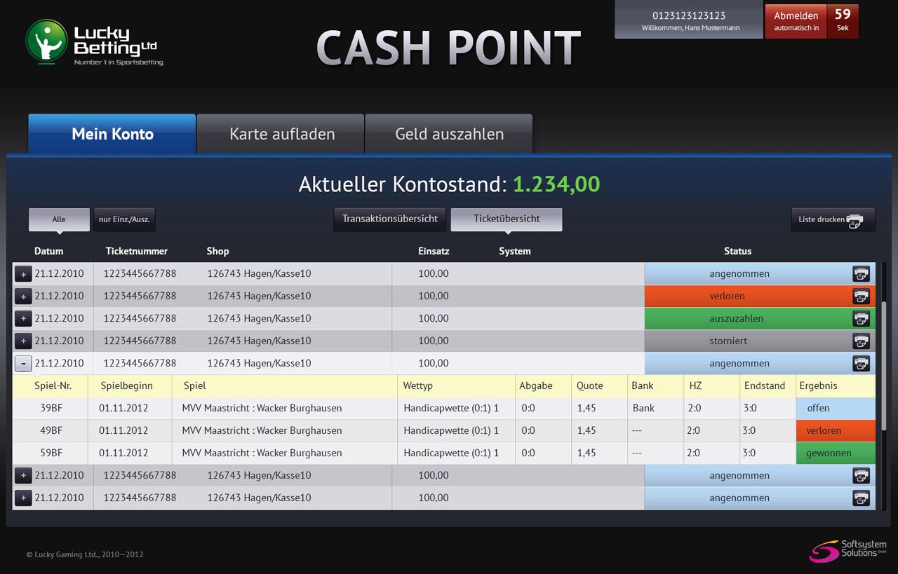 Cash Point Terminal